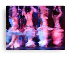 Dance crescendo Canvas Print