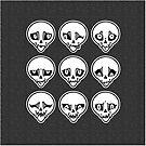 Skull Feels (Grey Version) by blacklilypie