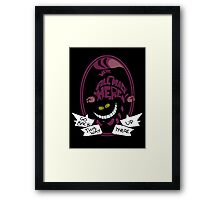 Cheshire Framed Print