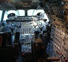 Concorde Flight Deck by JMaxFly