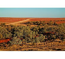 North Creek, Oodnadatta Track, Outback South Australia Photographic Print