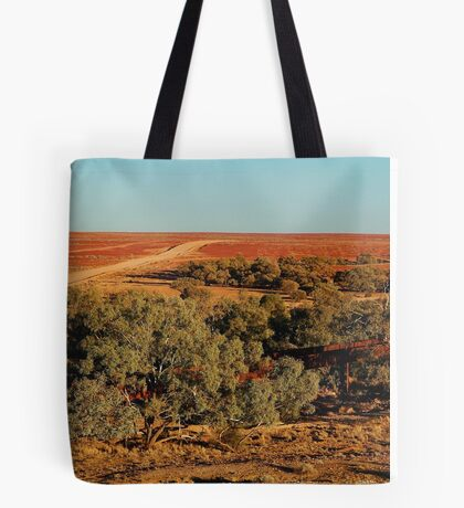 North Creek, Oodnadatta Track, Outback South Australia Tote Bag