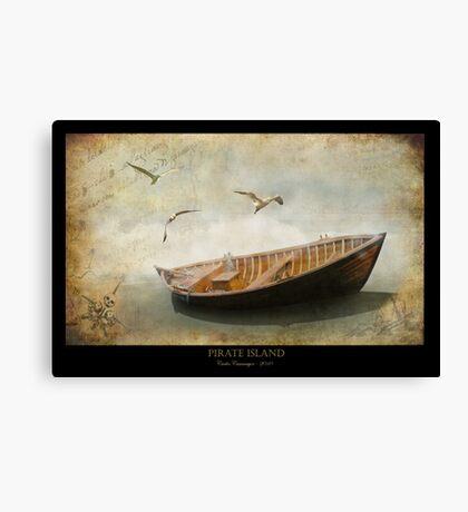 Pirate Island Canvas Print