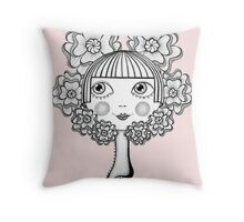 Who's The Fairest of Them All Throw Pillow