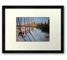 Winter Haven Framed Print