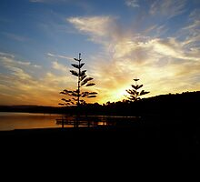 Sunset- Warners Bay by rococodreams