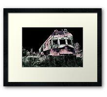 Midnight Ghost Train Framed Print