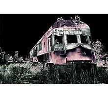 Midnight Ghost Train Photographic Print