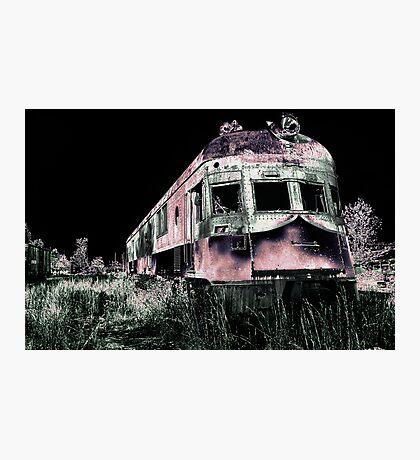 Midnight Ghost Train Photographic Print