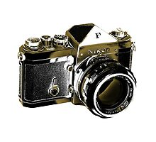 Nikon F SLR Camera by GlesgaGeek