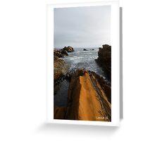 Earth Meets Sea Greeting Card