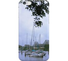 Sailboats in Brisbane, Australia iPhone Case/Skin