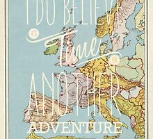 I do believe it's time for another adventure - Europe by Hannahkaypiche