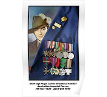 "Proud Rat - Medals of a ""Rat of Tobruk"" Poster"