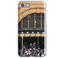 Flinders Street Station - Front Entrance iPhone Case/Skin