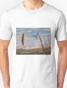 Circling Eagle. Unisex T-Shirt