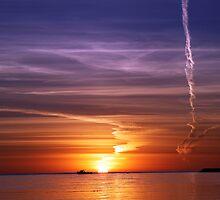 Vapor Trail by Steve Chapple