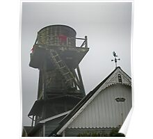 water towers of mendocino [7] Poster