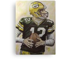 Aaron it out Canvas Print