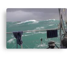 Storm on Tasman Sea Canvas Print