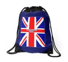 Mod Scooter Girl by 'Chillee Wilson' Drawstring Bag