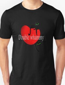 Double cat whammy cool t- shirt design Unisex T-Shirt