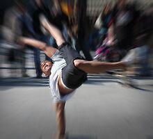 street performer on the Ku'damm by Gavin Craig