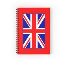 Mod British Union Jack by 'Chillee Wilson'  Spiral Notebook
