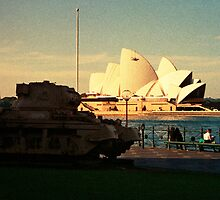 Opera House and little Tank by Juilee  Pryor