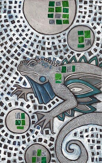 The Blizzard Lizard by Lynnette Shelley