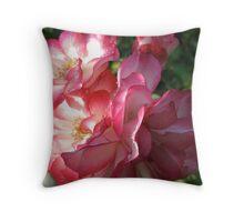 Heartfelt Roses Throw Pillow