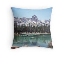 Crystal Crag, Mammoth CA Throw Pillow