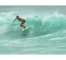 Byron Surfer Photographic Print