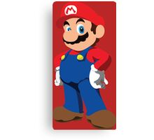 Super Mario Canvas Print