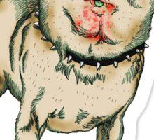 Zombie Chihuahua Sticker