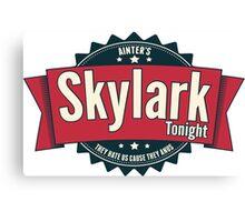 Skylark Tonight Ainter's Canvas Print