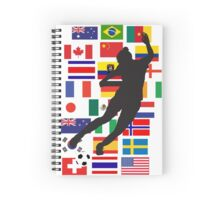 WWC - 24 teams Spiral Notebook