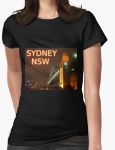 Sydney NSW Womens Fitted T-Shirt