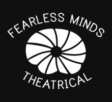 Fearless Minds Theatrical Logo - White Kids Tee