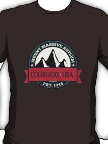 Outlast - Mount Massive Asylum Crest T-Shirt