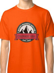 Outlast - Mount Massive Asylum Crest Classic T-Shirt