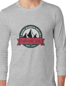 Outlast - Mount Massive Asylum Crest Long Sleeve T-Shirt