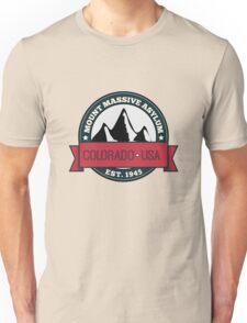 Outlast - Mount Massive Asylum Crest Unisex T-Shirt