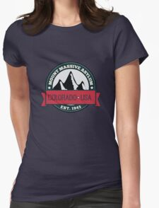 Outlast - Mount Massive Asylum Crest Womens Fitted T-Shirt