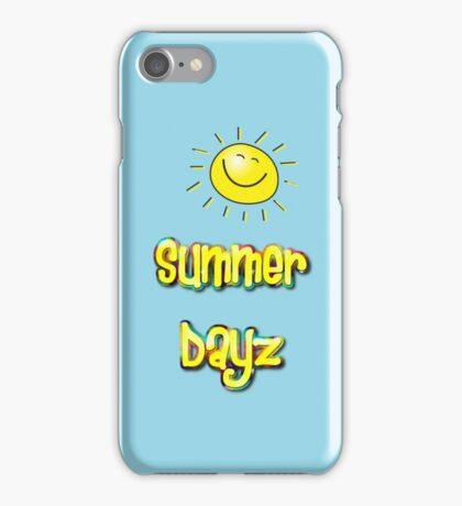 Summer Dayz by Chillee Wilson  iPhone Case/Skin