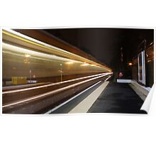 Oncoming Train Poster