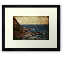 The Shelf - Susan Gilmour Beach Framed Print