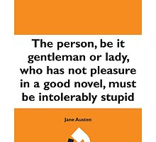 On Books - Jane Austin by Colin Robson