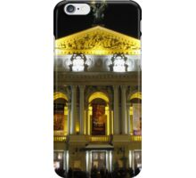 Lvov Opera House at night iPhone Case/Skin