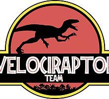 velociraptor team by steve bruke